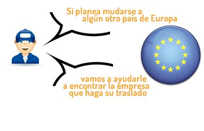 Mudanzas en Europa