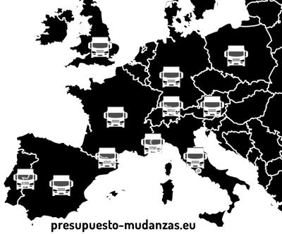 Mudanzas en toda Europa
